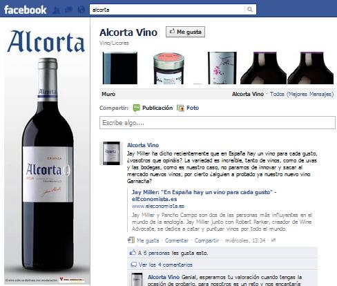 Bodegas alcorta emplear twitter facebook youtube y flickr para comunicarse con sus consumidores - Bodegas alcorta ...
