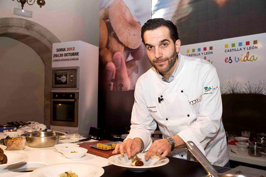 Mario sandoval brilla en soria gastron mica - Restaurante villena segovia ...
