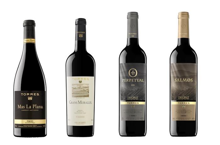 Cuatro vinos de bodegas torres consiguen el oro en el - Bodegas torres vilafranca ...