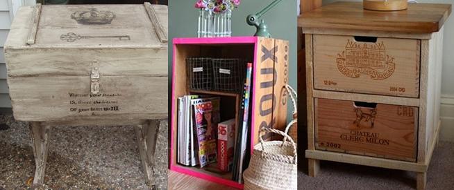 te ofrecemos algunas ideas para transformar tus cajas de vino de madera en algo til y original