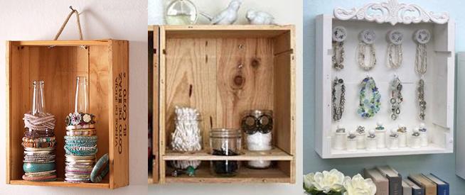 10 Ideas para reutilizar las cajas de vino de madera