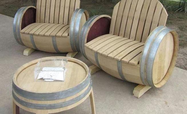 10 ideas originales para reciclar barricas - Sillones originales ...