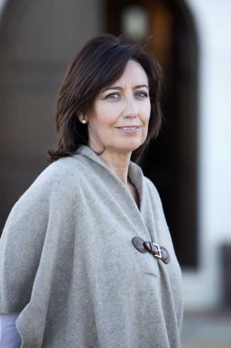 Teresa Rodríguez, una de las Damas del Vino en Rueda