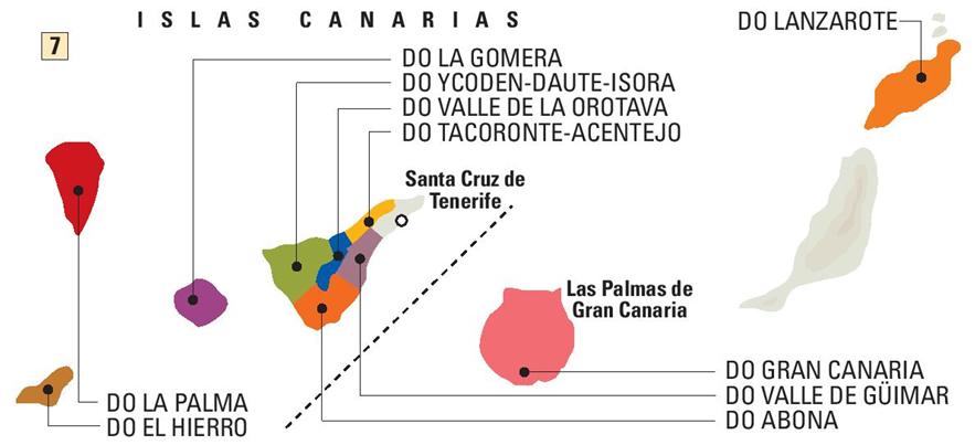 denominaciones de origen vinos Canarias