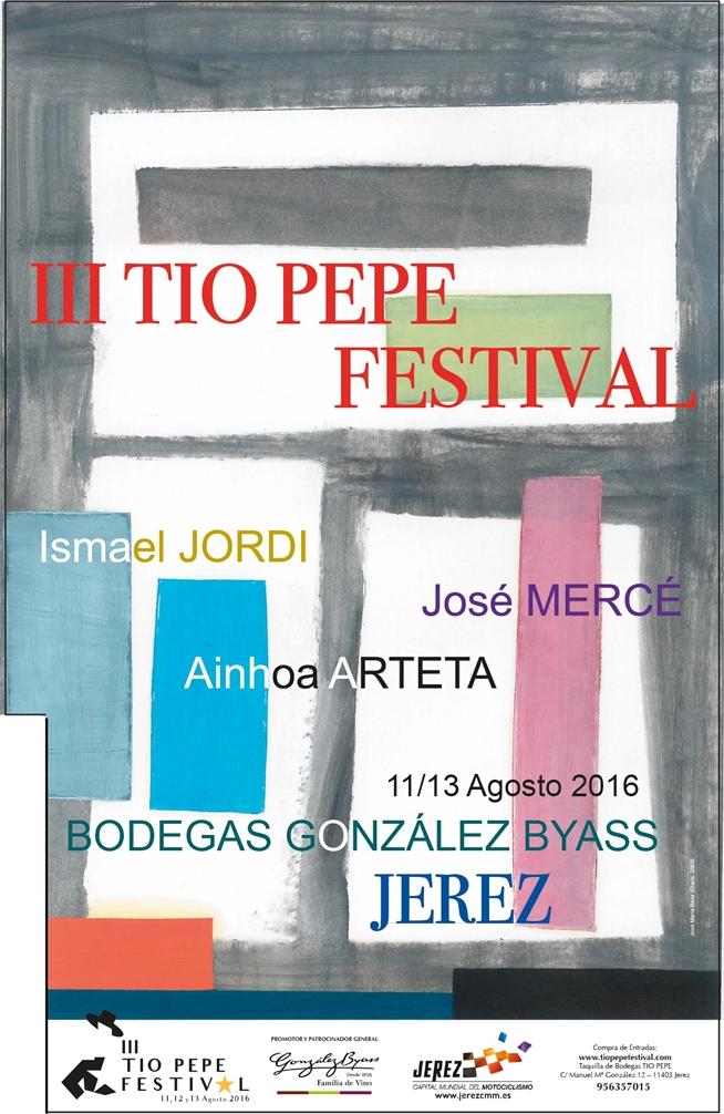 El iii t o pepe festival brilla con artistas internacionales for Cartel tio pepe