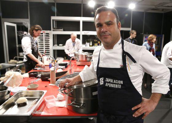 Luc a participa en la semifinal del concurso 39 maestros de for Trabajo jefe de cocina