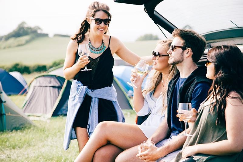 picnic amigos, campamento vinos