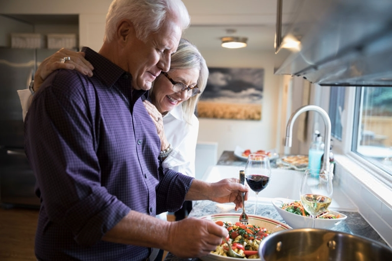 Cocina sana y vino, igual a salud