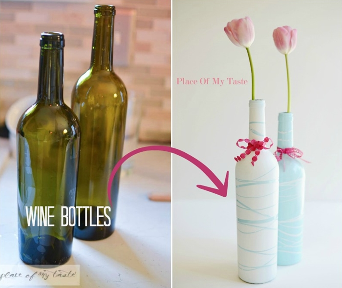 Pagina2 5 Ideas Creativas Para Reciclar Botellas De Vinos Y Decorar - Decorar-botellas