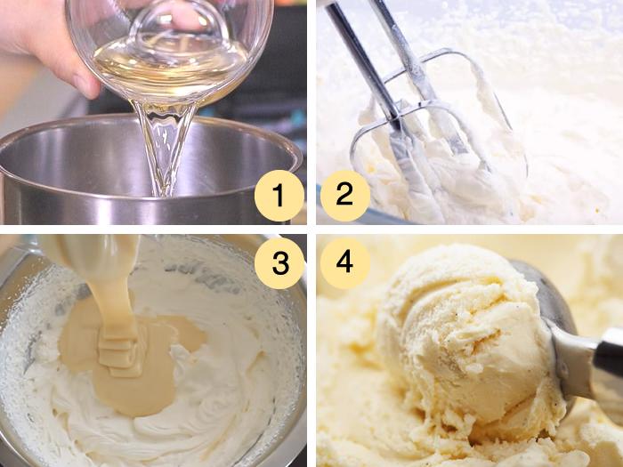 Cómo hacer helado de vino blanco