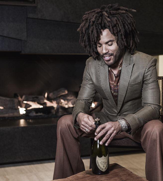 Lenny Kravitz xDom Pérignon, champagne de colección exclusiva