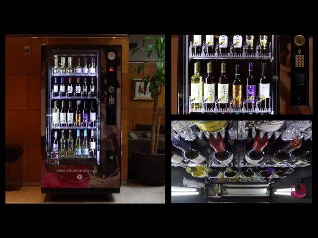 VINATE VENDING /Expendedora de botellas de vino